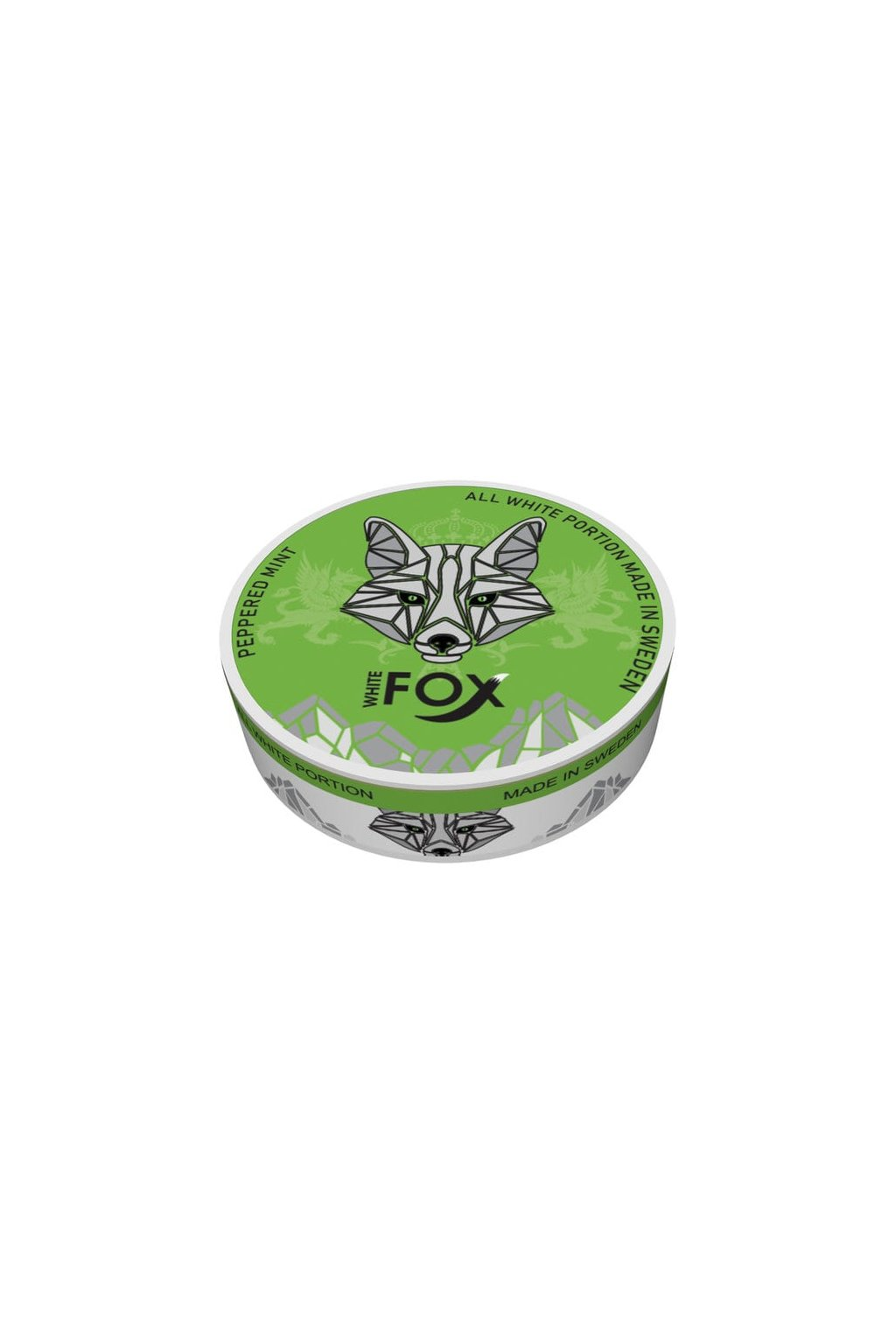 white fox peppered mint nikotinove sacky nicopods