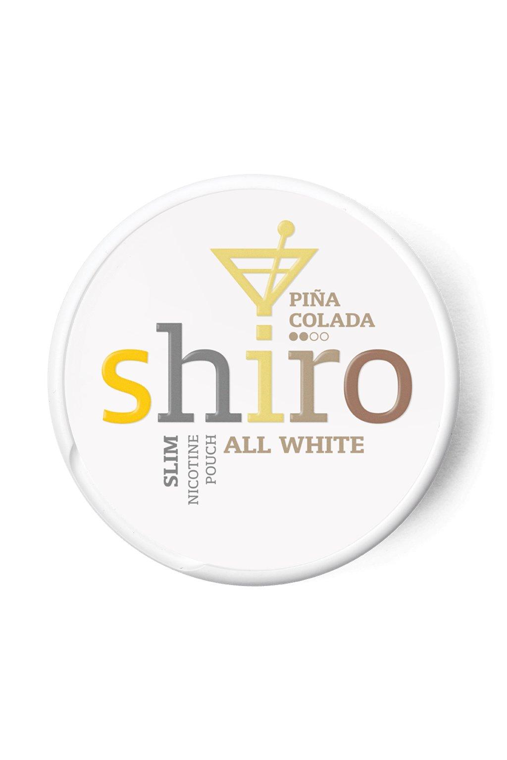 Shiro Pina Colada nikotinove sacky