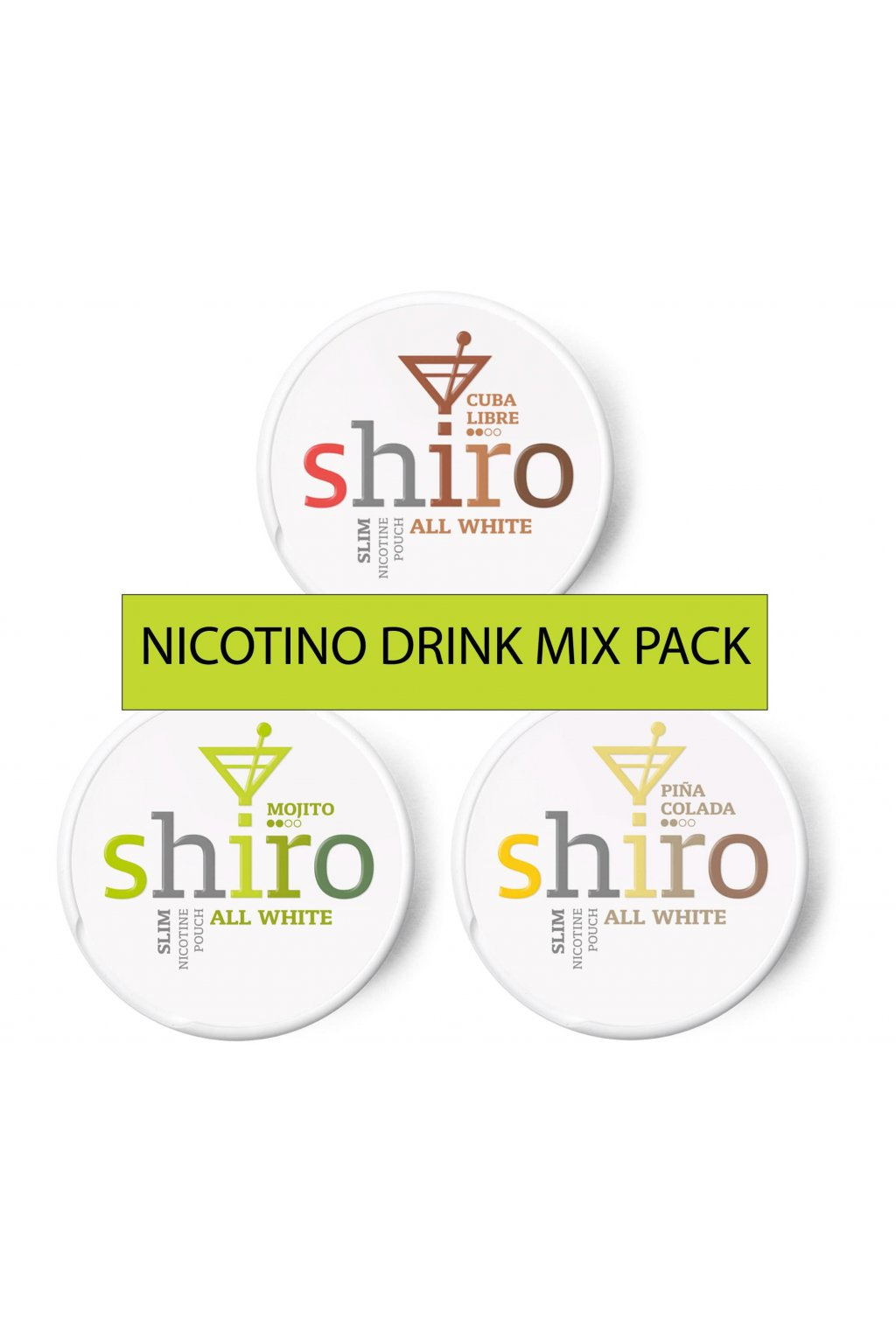 Nicotino drink mix pack min