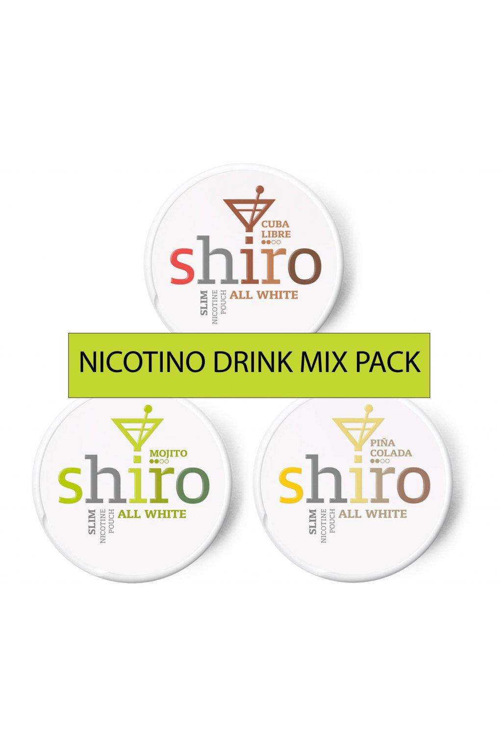 Nicotino drink mix pack min