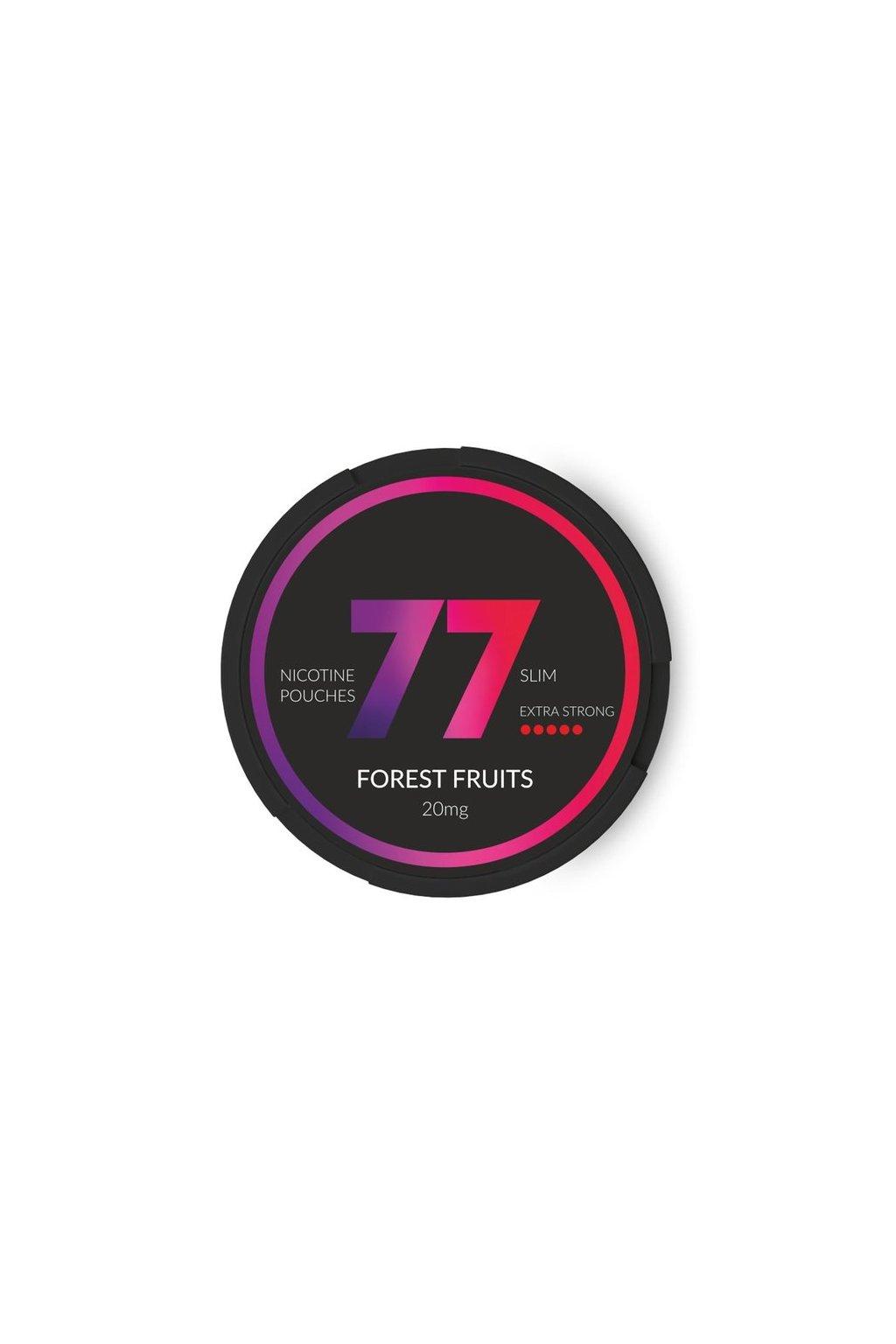 77 forest fruits nikotinove sacky nicopods