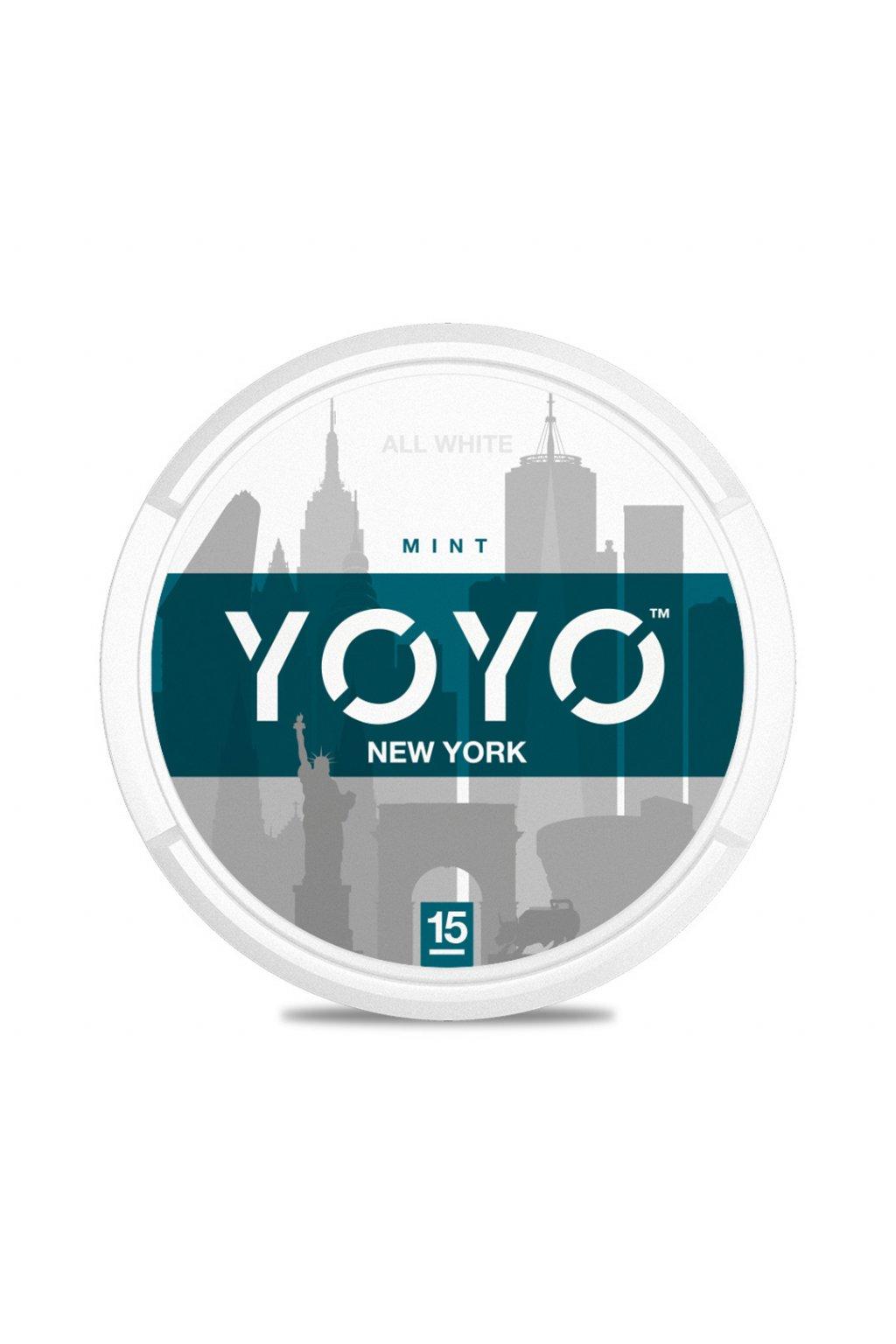 yoyo new york nikotinove sacky