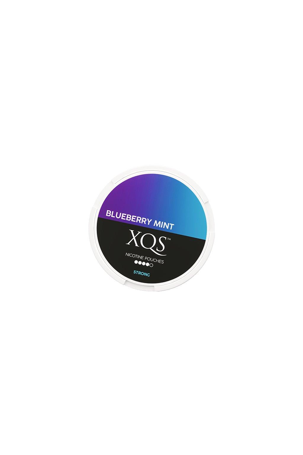 xqs blueberry mint slim extra strong nikotinove sacky nicopods