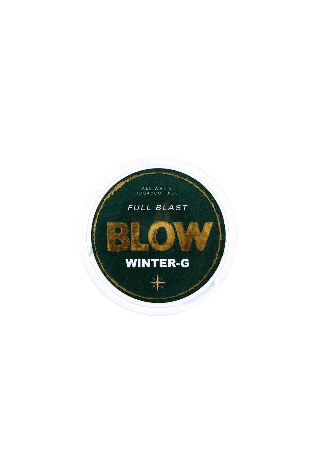 Blow wintergreen nikotinove sacky