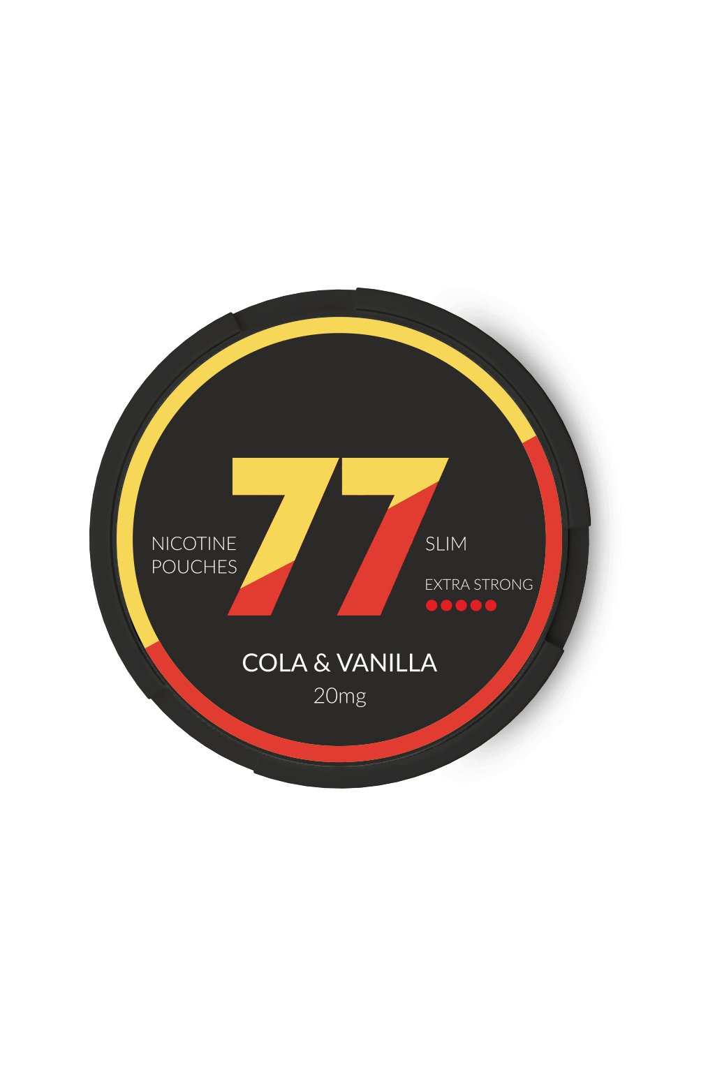 77 nikotinove sacky nicopods cola vanilka nordiction