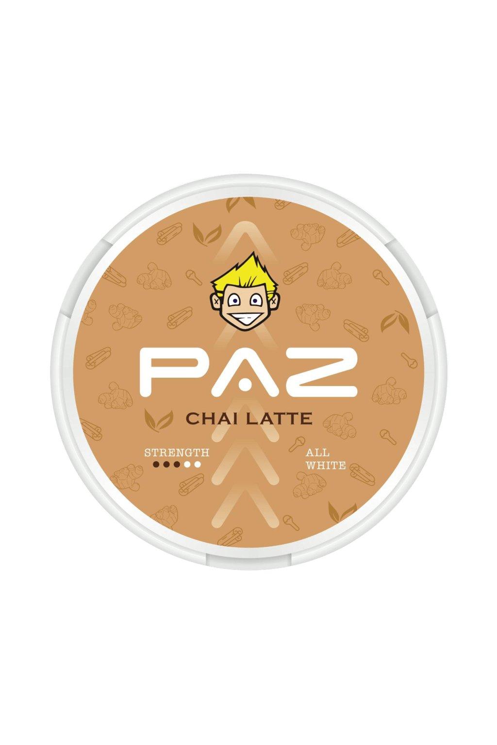 paz chai latte snubie edition nikotinove sacky nicopods