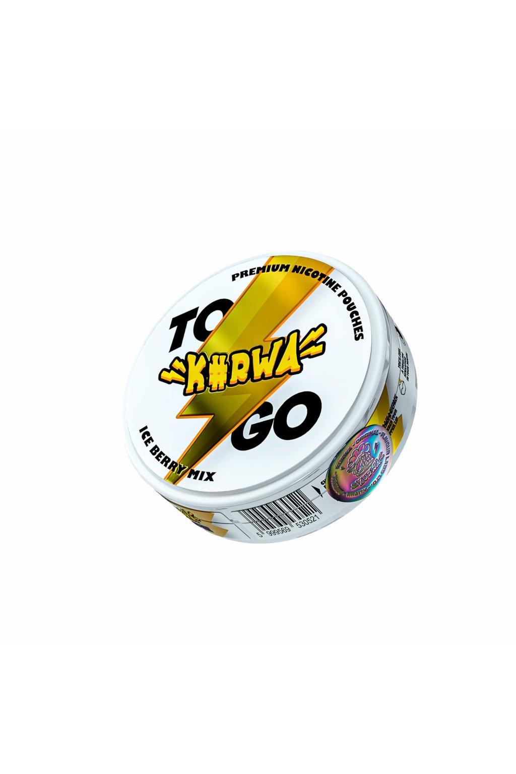 Kurwa to go ice berry mix nikotinove sacky