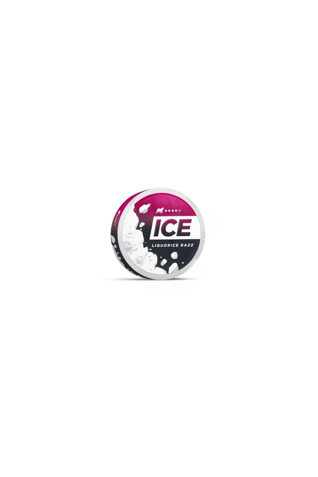 ICE liquorice ruzz nikotinove sacky