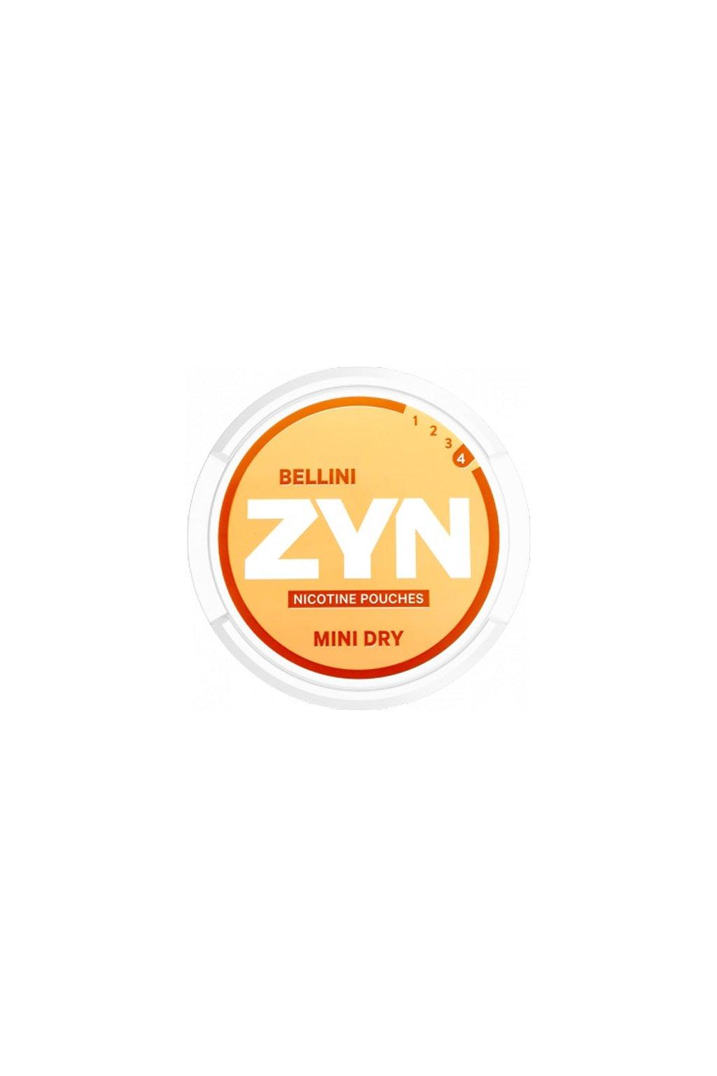 ZYN Mini Dry Bellini nikotinove sacky nicopods