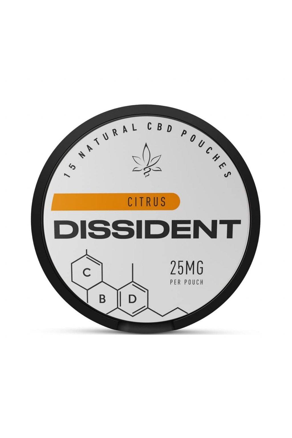 Dissident CBD CITRUS sáčky s CBD
