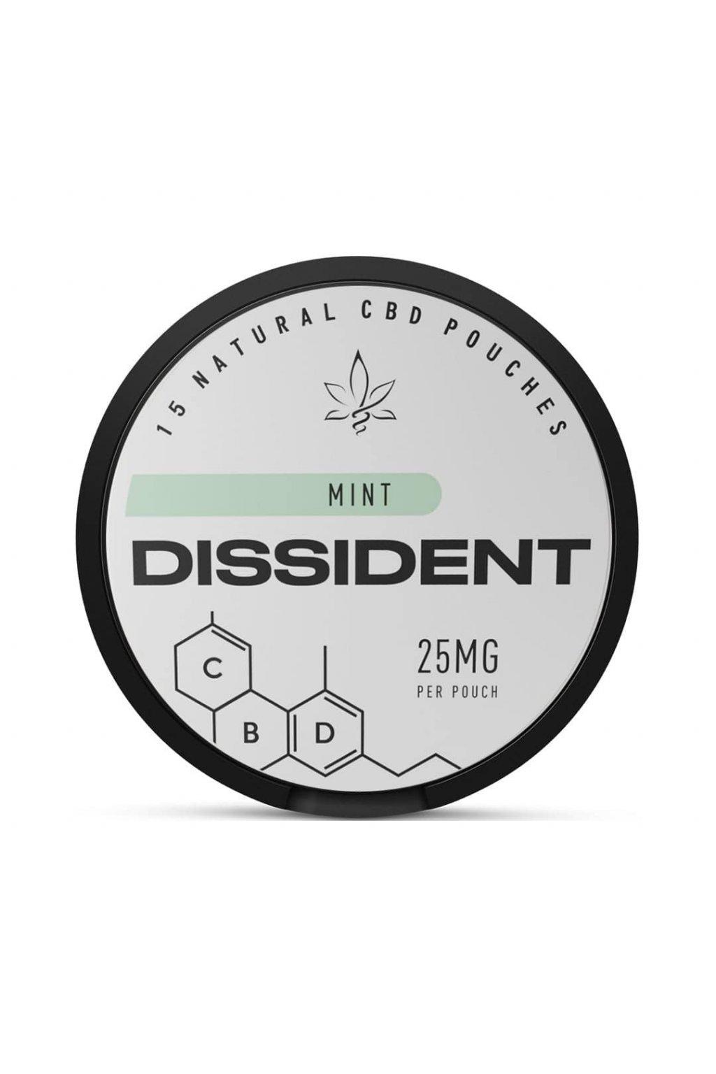 Dissident CBD MINT sacky s obsahem CBD