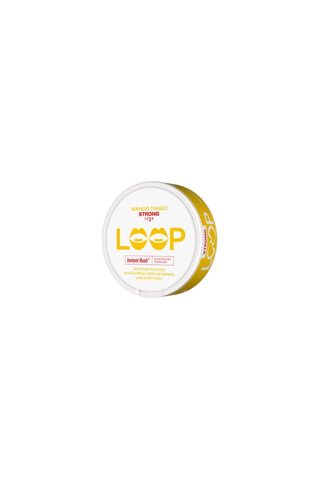loop mango tango slim strong nikotinove sacky nicopods