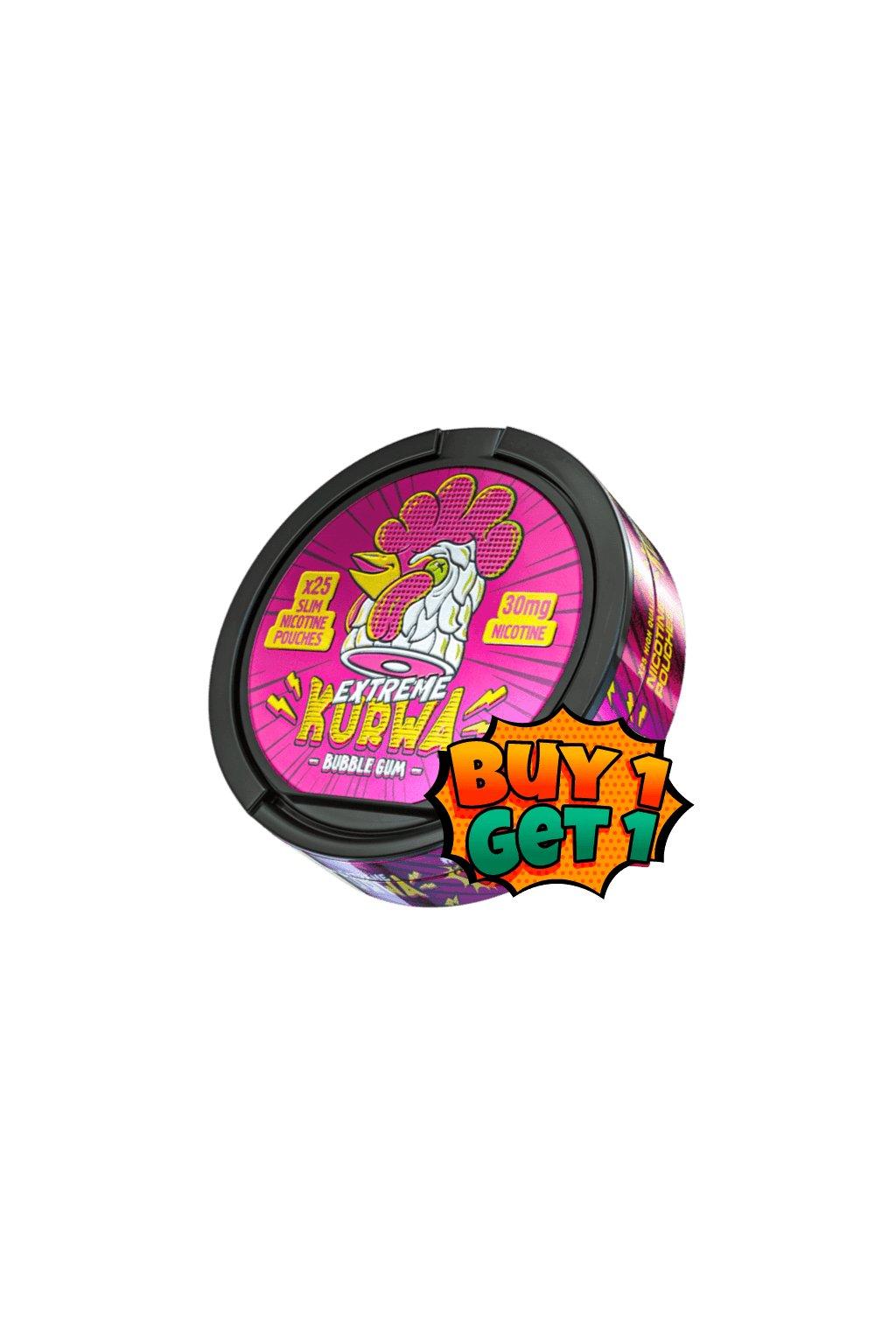 bubblegum 30 1+1 min