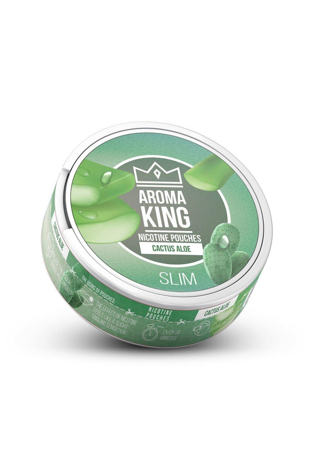 Aroma King cactus aloe 60 mg 20 mg  nikotinove sacky nicopods