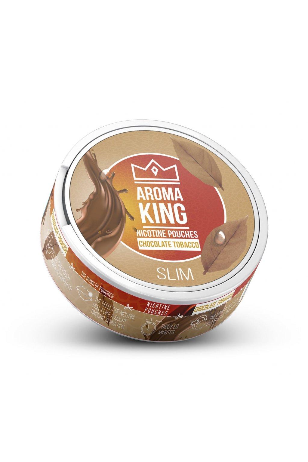 aroma king chocolate tobacco 60 mg 20 mg nikotinove sacky nicopods