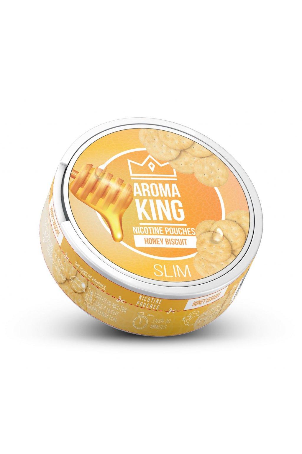 Aroma king honey bisquit 60 mg 20 mg nikotinove sacky nicopods