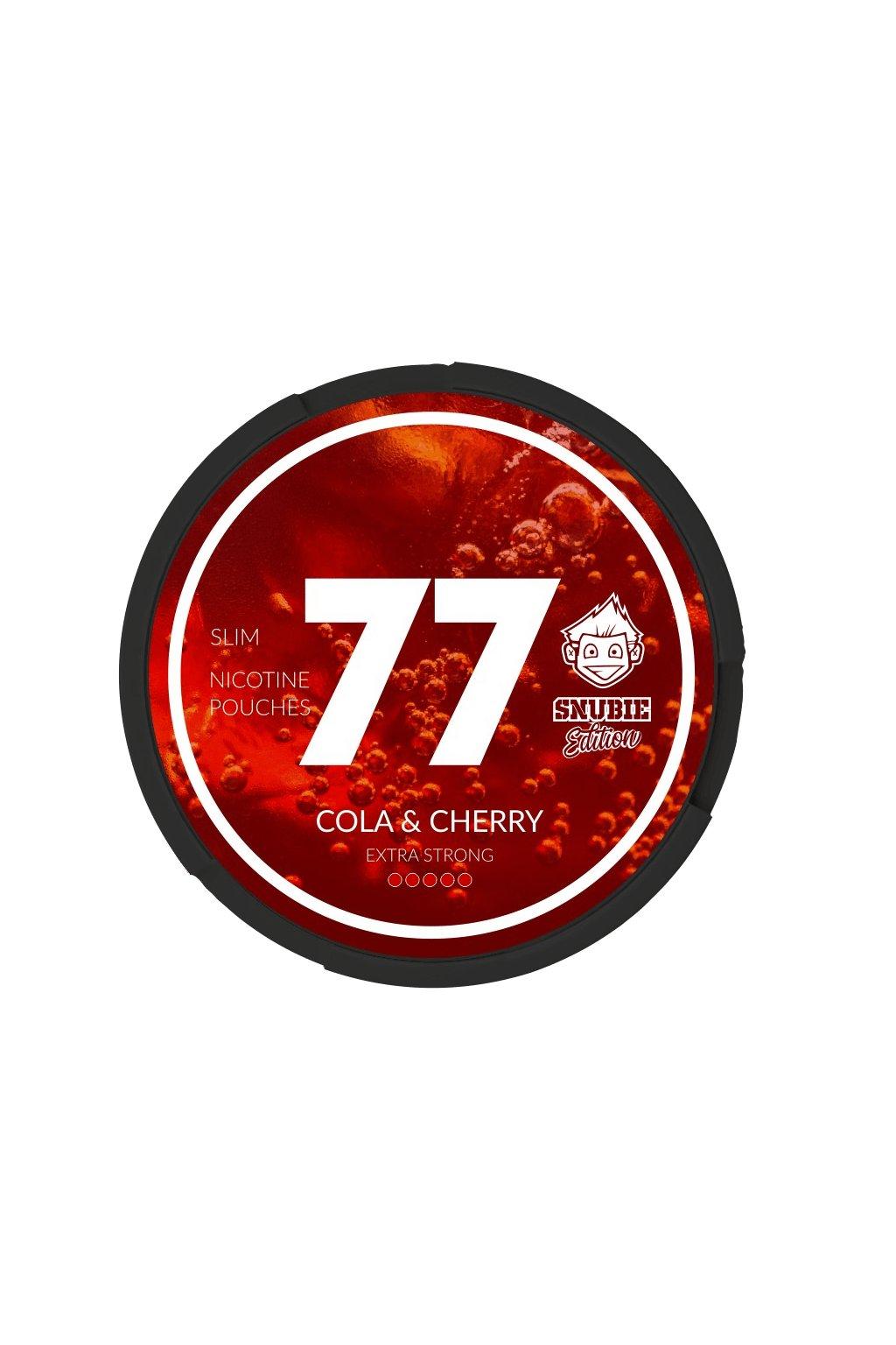 77 cola cherry nikotinove sacky nicopods snubie edition