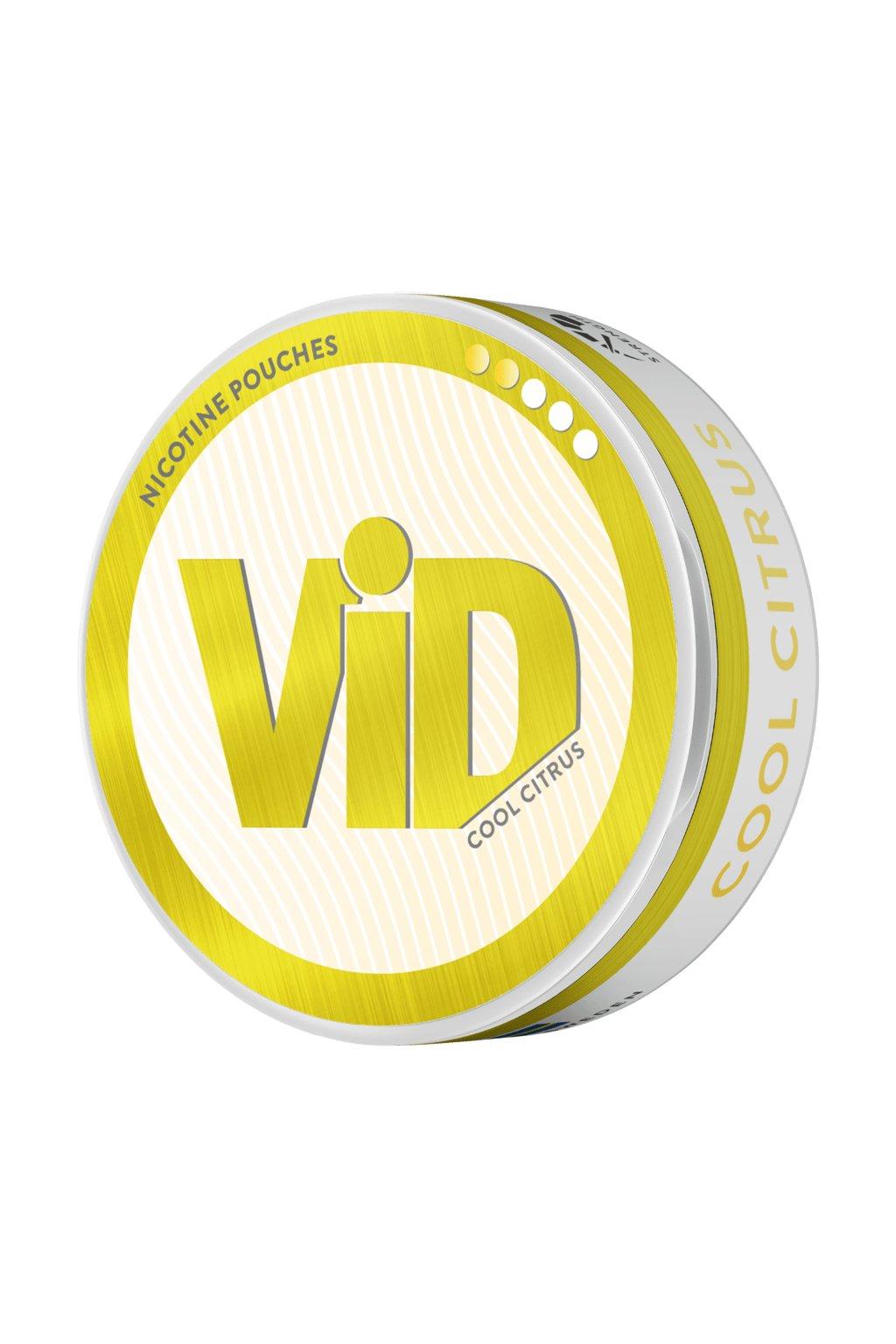 VID Cool citrus nikotinove sacky nicopods