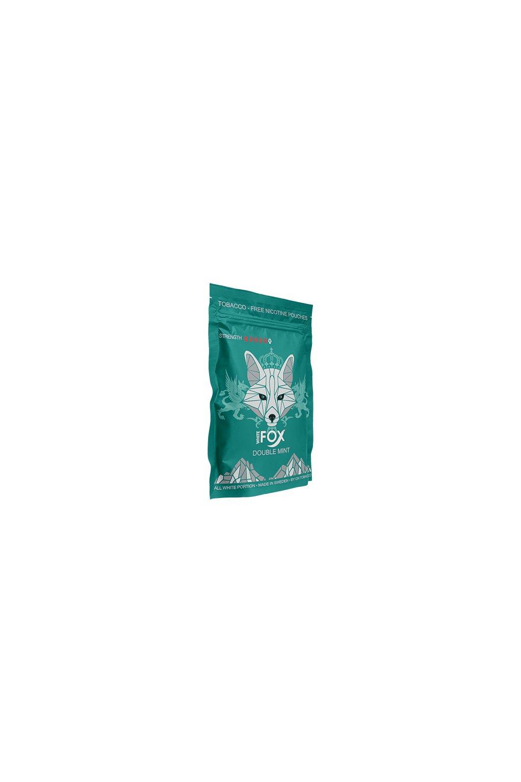 white fox double mint soft pack nikotinove sacky