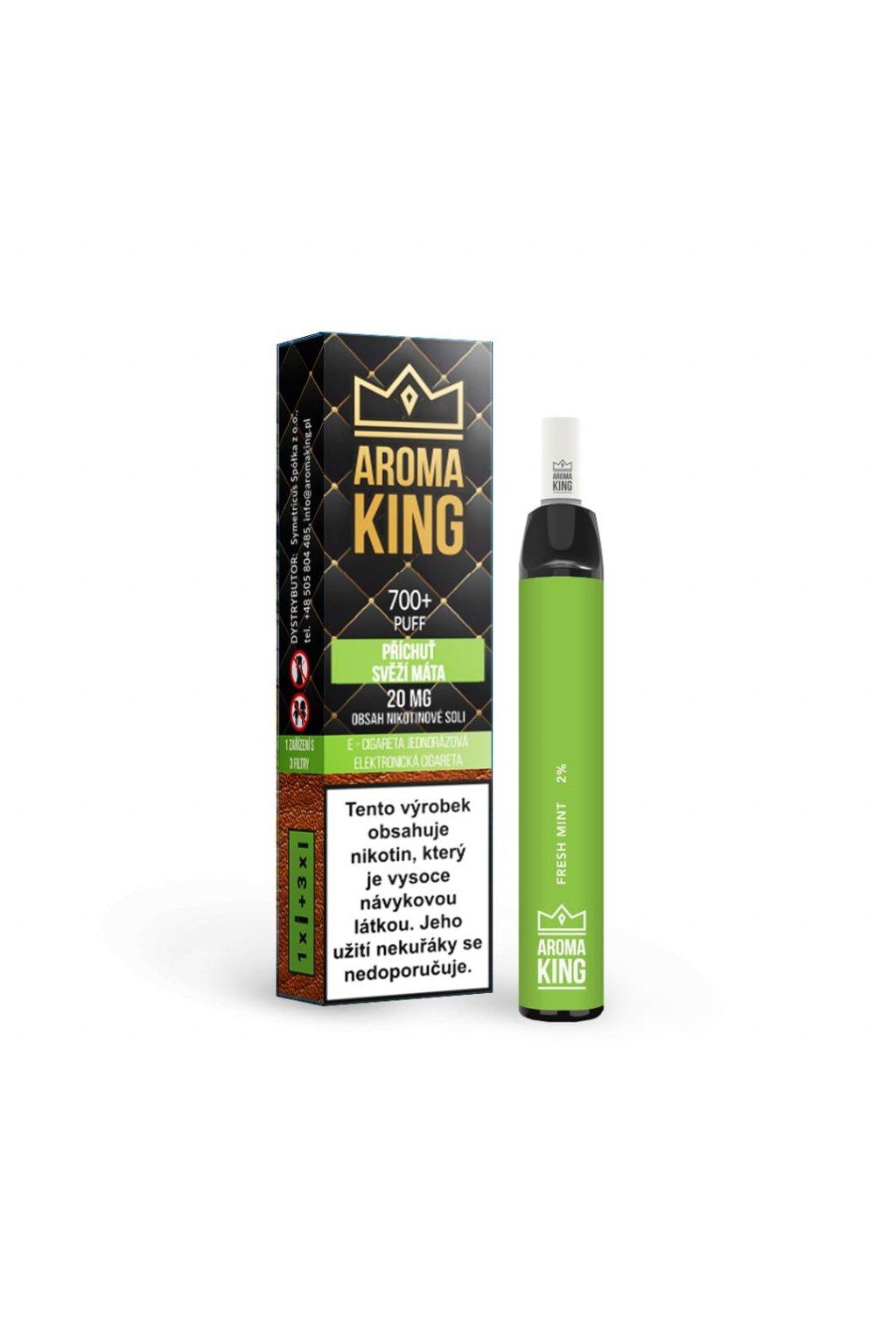 AromaKing 700 Fresh Mint E cigareta min
