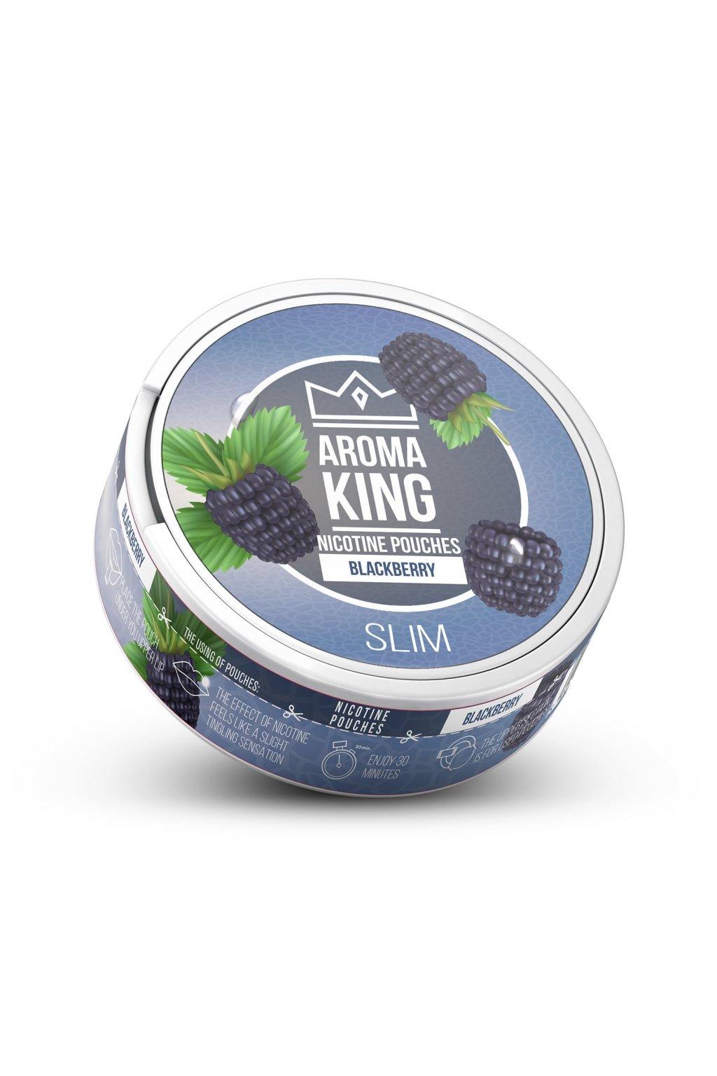 Aroma King blackberry nikotinove sacky nicopods