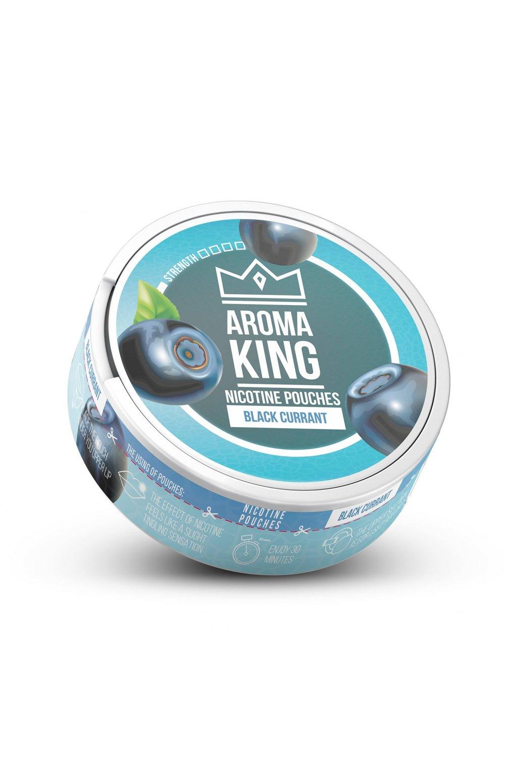 Aroma King Black Currant nikotinove sacky nicopods