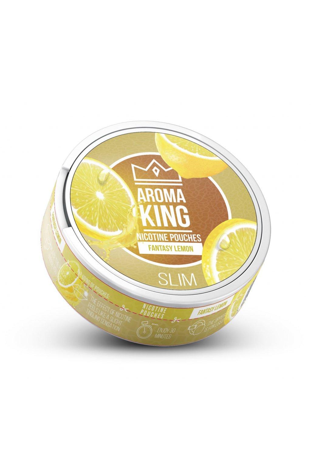 Aroma King Fantasy Lemon nikotinove sacky nicopods