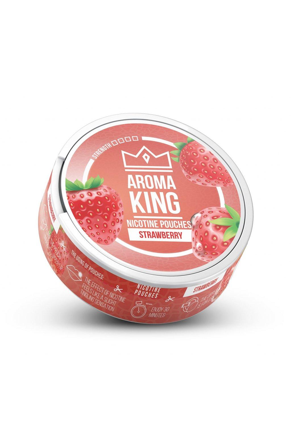 Aroma King Strawberry nikotinove sacky nicopods
