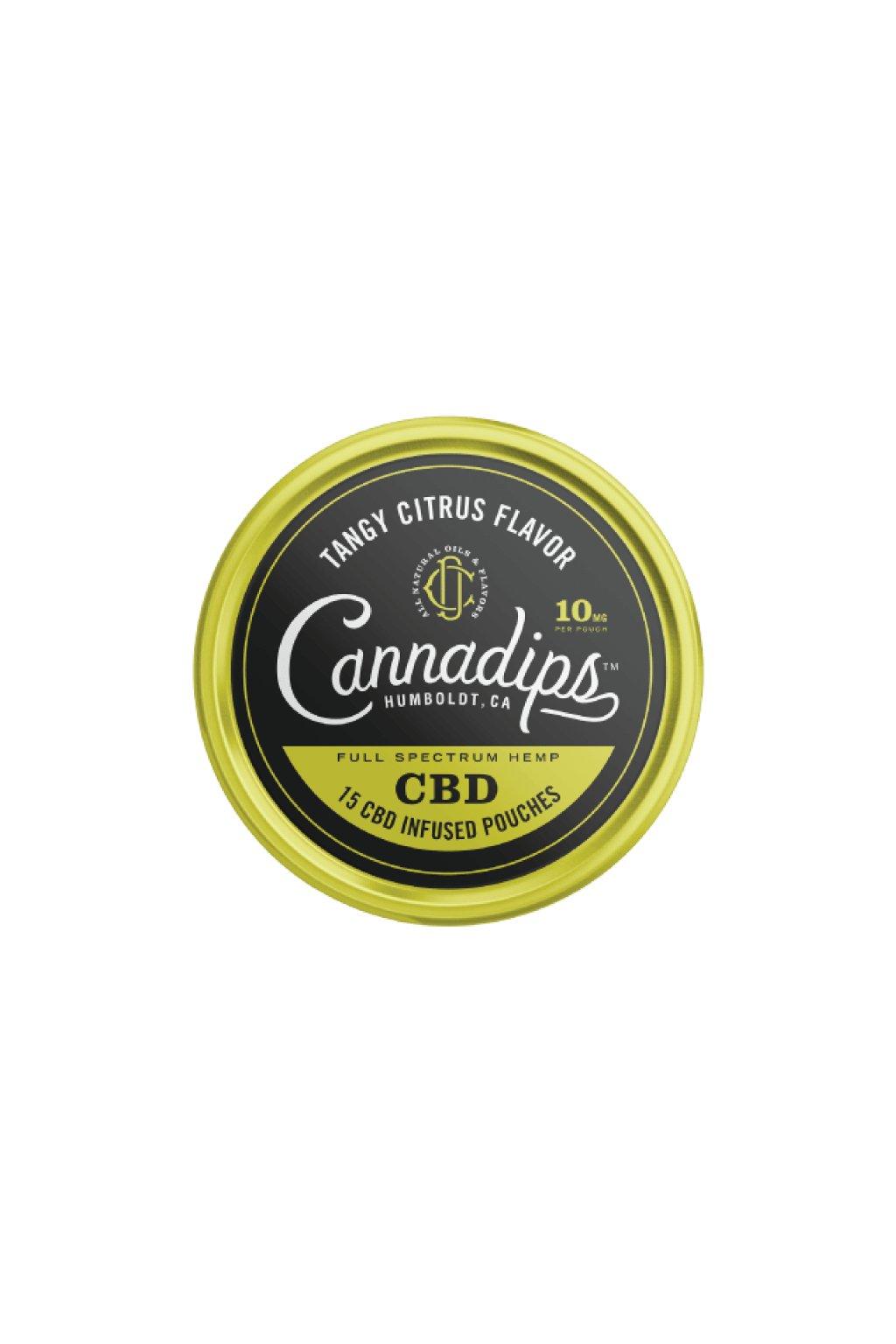 cannadips cbd sacky tangy citrus nordiction