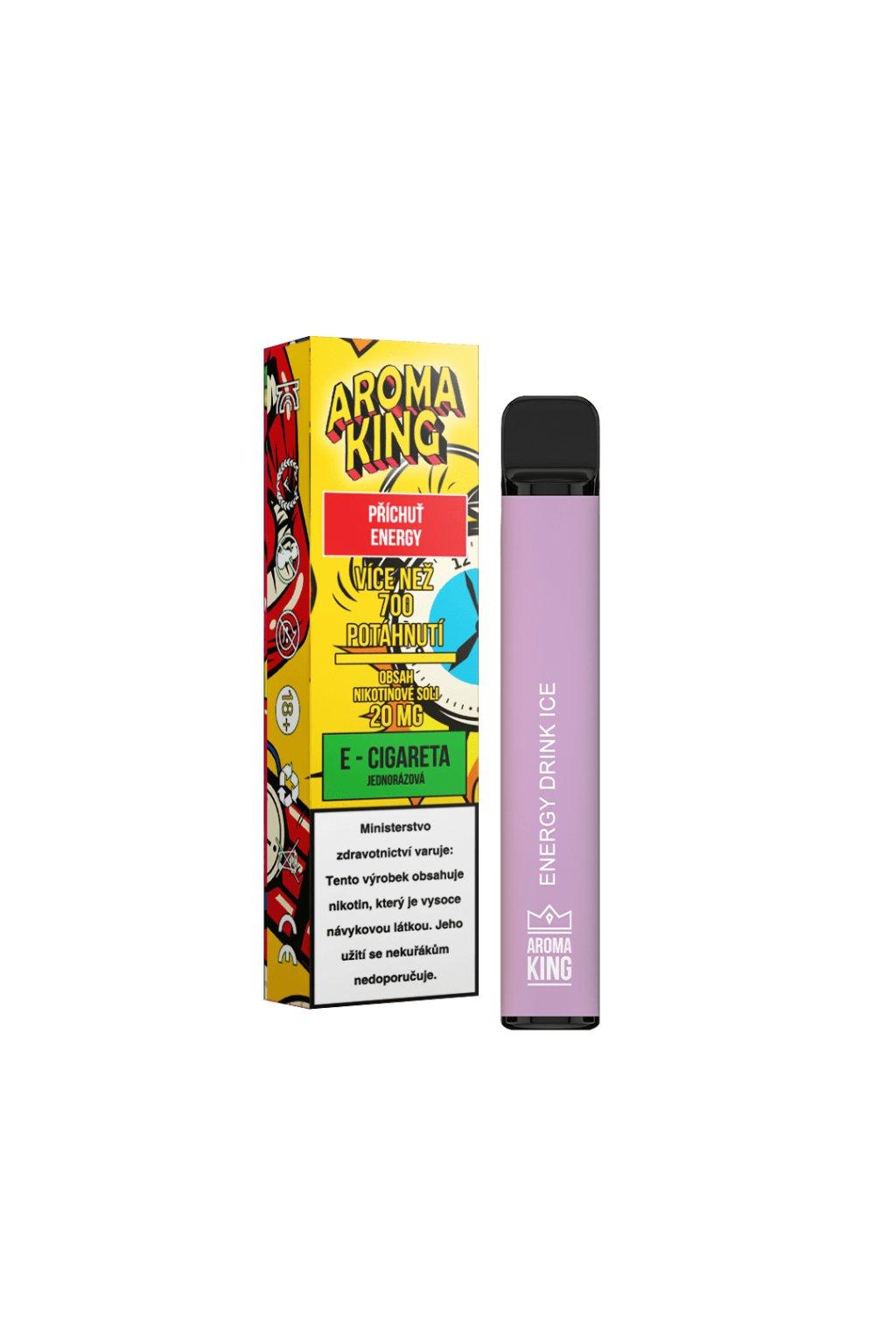 Aroma King jednorazova e cigareta energy drink cosmic 700 potahnuti min