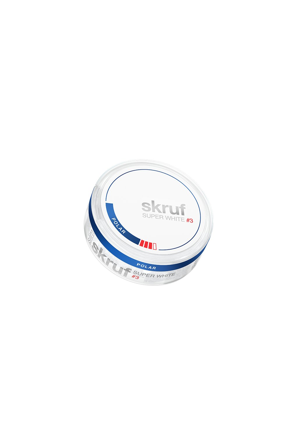 skruf super white slim polar 3 grande
