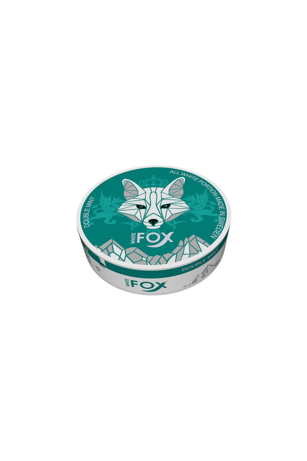 white fox double mint nikotinove sacky nicopods