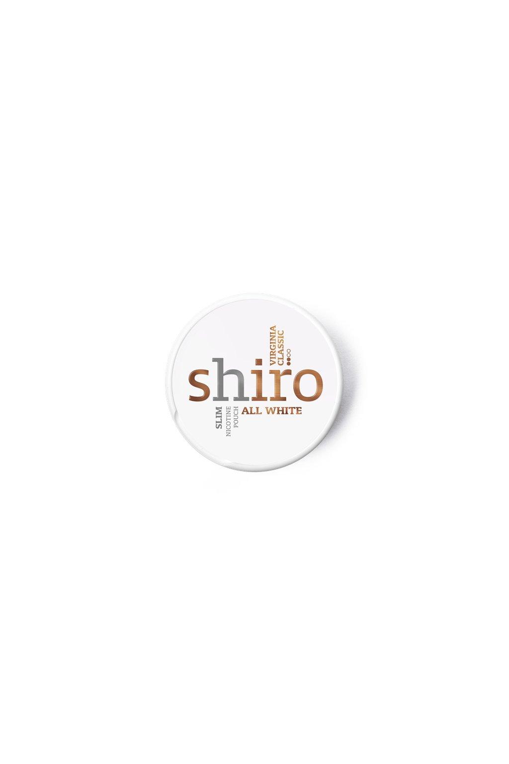 Shiro virginia classic nikotinove sacky nordiction