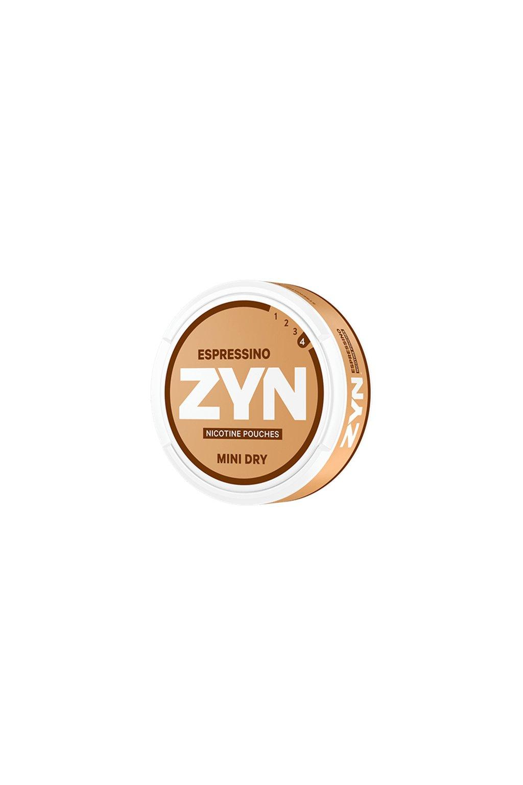 zyn espressino mini strong nikotinove sacky nordiction