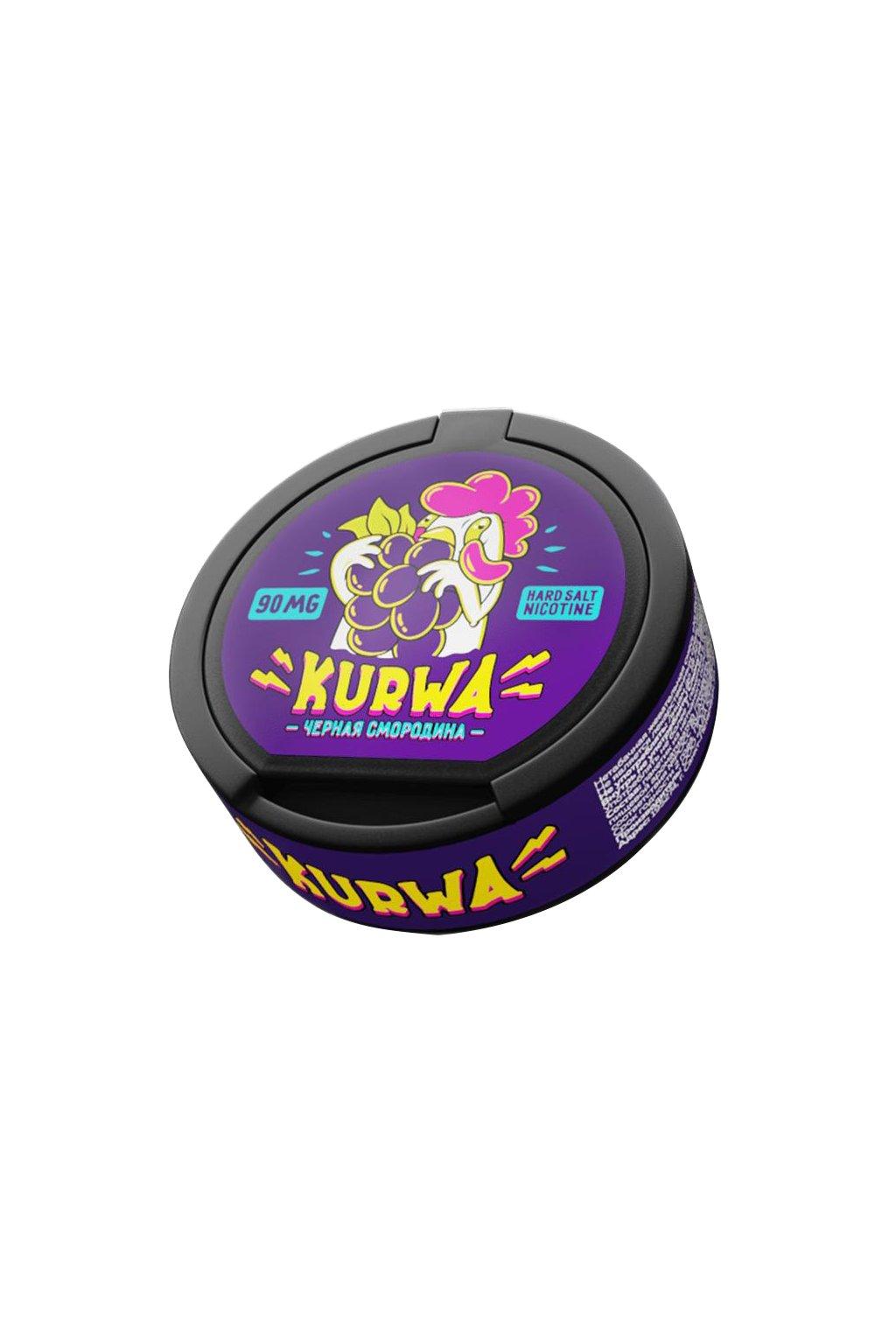 Kurwa black currant nikotinové sáčky z ruska nordiction