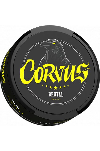 Corvus brutal nikotinové sáčky nicopods nordiction