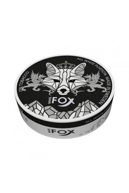 white fox black edition nikotinove sacky nicopods