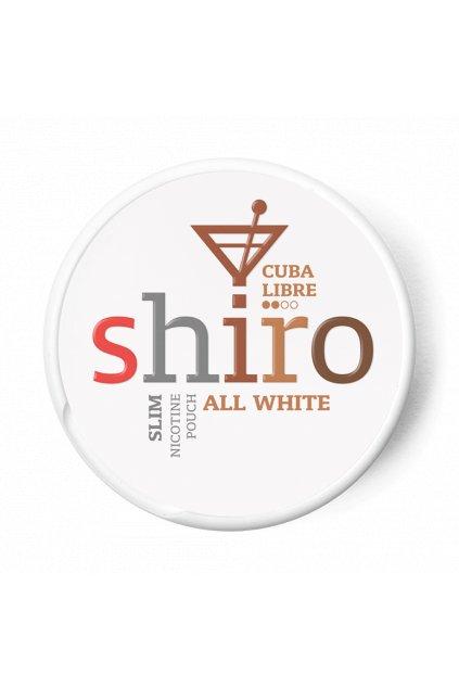 Shiro Cuba Libre nikotinove sacky