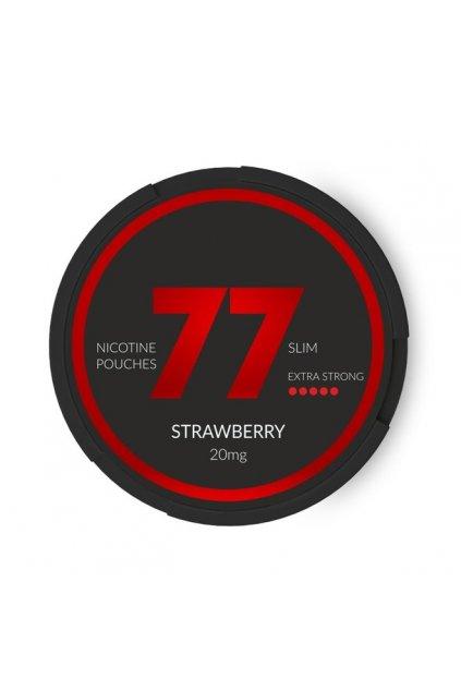 77 strawberry nikotinove sacky nicopods