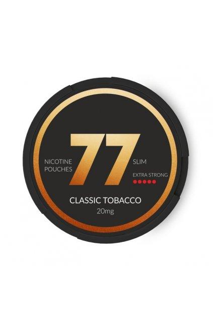 77 classic tobacco nikotinove sacky nicopods