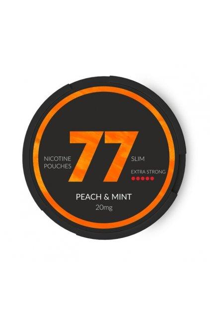 77 peach mint nikotinove sacky nicopods