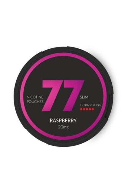 77 raspberry nikotinove sacky nicopods