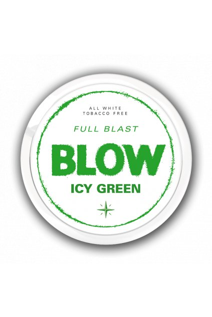 BLOW ICY GREEN nikotinove sacky