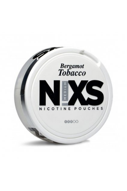 nixs bergamot tobacco nikotinove sacky nicopods