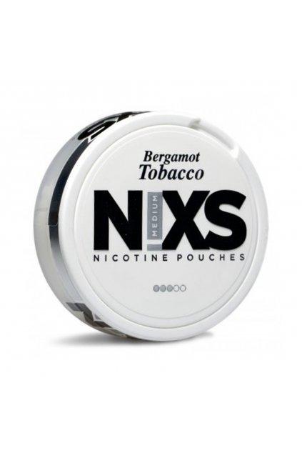 nixs bergamot tobacco nikotinove sacky