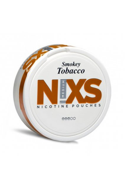 nixs smokey tobacco nikotinove sacky