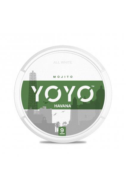yoyo havana nikotinove sacky