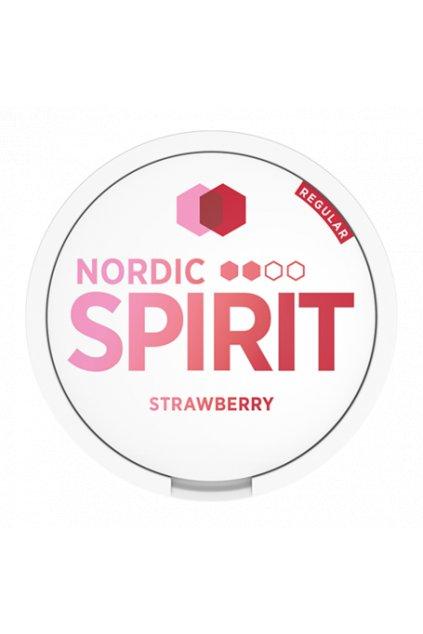 Nordic spirit strawberry nikotinove sacky nicopods nordiction