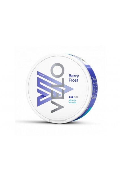 velo berry frost nikotinove sacky