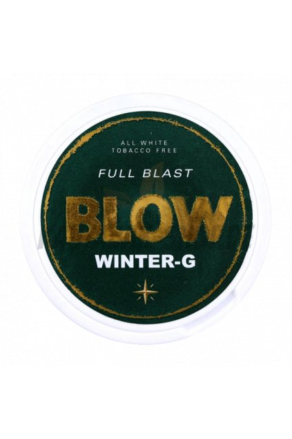Blow wintergreen nikotinove sacky